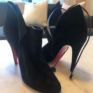 Louboutin Booties in Black